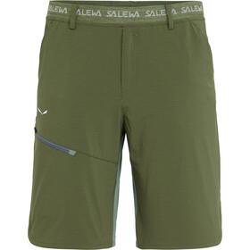 Salewa Puez 3 Durastretch Spodnie krótkie Mężczyźni oliwkowy